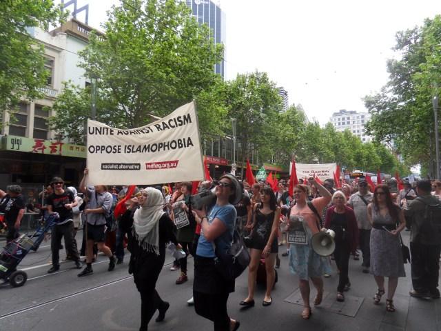 Anti-Islamophobia Rally Melbourne