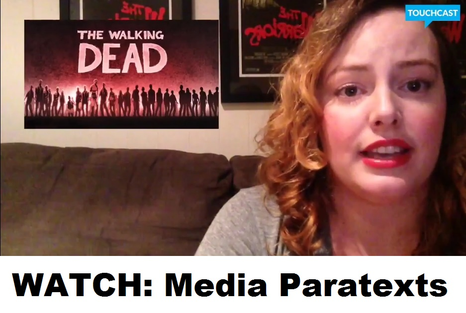 Paratextuality in The Walking Dead and more