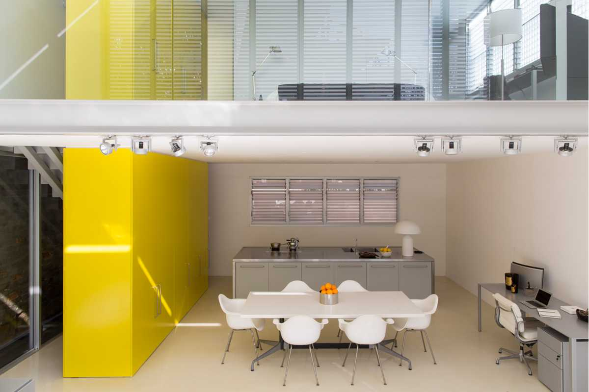 Yellow Kitchen Dining Room Ian Moore Design