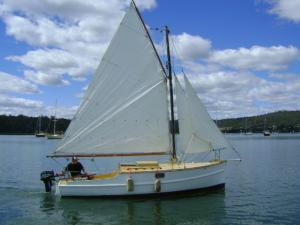 1934 Gass Cutter Sail Boat