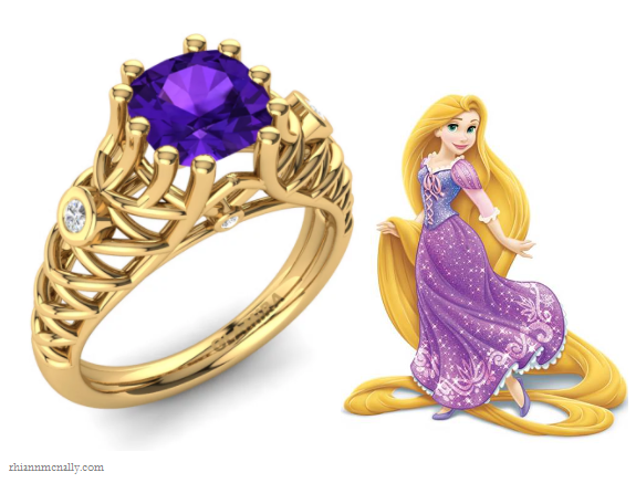 Rapunzel's Engagement Rings